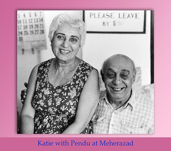 Katie Irani of Meherabad